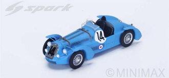 1/43 Delage D6S No.14 4th Le Mans 1949 L. Gerard - F. Godia Fales(1/43 Delage D6S No.14 4th Le Mans 1949 L. Gerard - F. Godia Fales(Released))