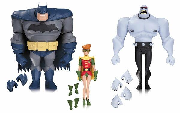 『バットマン アニメイテッド』レジェンド・オブ・ダークナイト (3パック/ニュー・バットマン・アドベンチャーズ版)[DCコレクティブル]《発売済・在庫品》