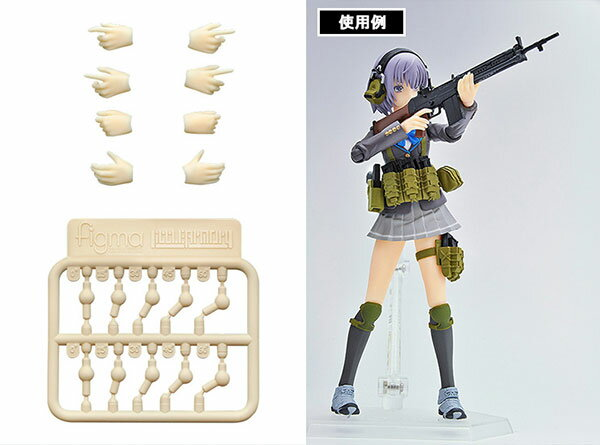LittleArmory-OP04:figma専用 銃の持ち手(再販)[トミーテック]《発売済・在庫品》