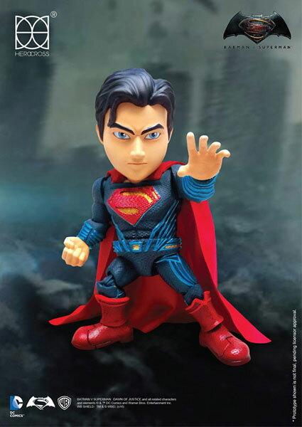 【ハイブリッド・メタル・フィギュレーション】#034 『バットマン vs スーパーマン ジャスティスの誕生』スーパーマン[ヒーロークロス]《04月仮予約》