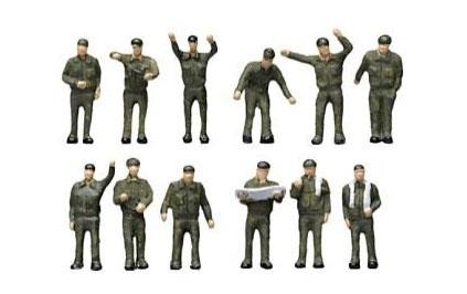 ジオラマコレクション ザ・人間111 自衛隊の人々[トミーテック]《発売済・在庫品》