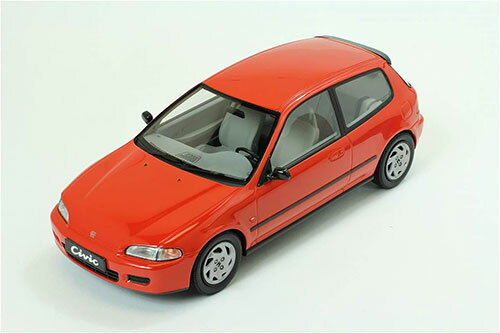 1/18 Triple9 Resin series 1992 Honda Civic EG6 - Red[TRIPLE 9 COLLECTION]【送料無料】《取り寄せ※暫定》
