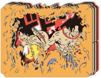 ONE PIECE - PAPER THEATER: Tataeruka Luffy !!!(Back-order)(ワンピース PAPER THEATER 戦えるかルフィ!!!)