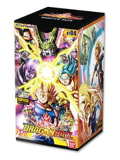 IC Carddass Dragon Ball Vol.5 Booster Pack [BT04] 20Pack BOX(Released)(ICカードダス ドラゴンボール 第4弾 ブースターパック【BT04】 20パック入りBOX)