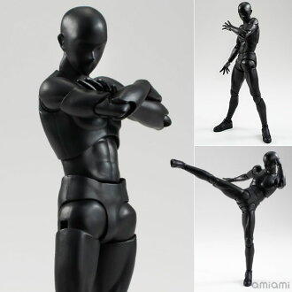 S.H. Figuarts - Body-kun (Solid black Color Ver.)(Released)(S.H.フィギュアーツ ボディくん(Solid black Color Ver.))