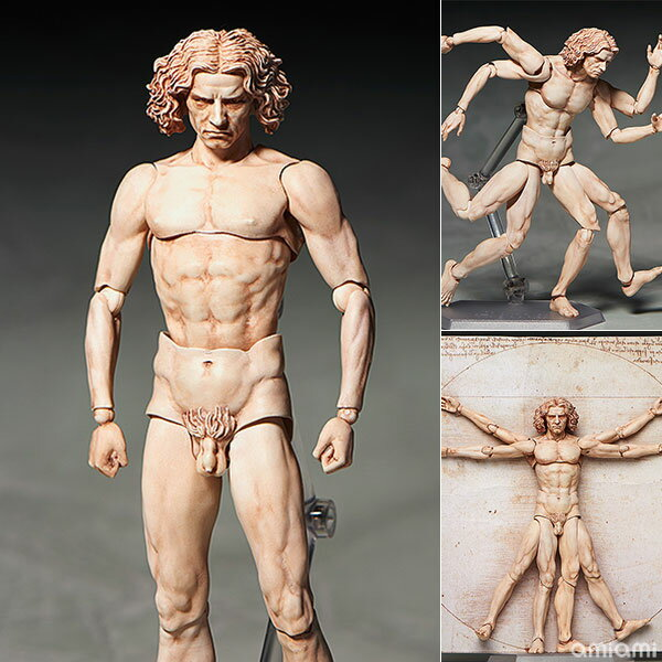 figma テーブル美術館 ウィトルウィウス的人体図(再販)[フリーイング]【送料無料】《発売済・在庫品》