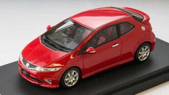 1/43 Honda Civic Type R Euro (FN2) Mirano Red(Back-order)(1/43 ホンダ シビック タイプR ユーロ(FN2) ミラノレッド)