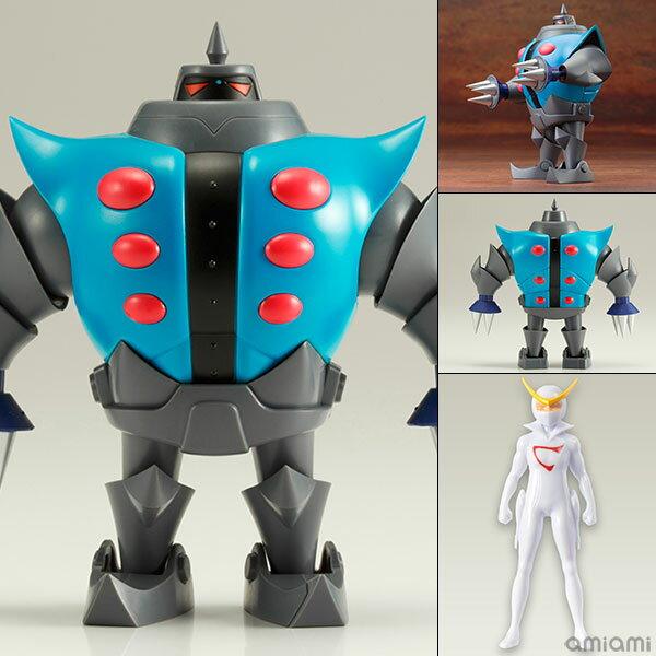 昭和模型少年クラブ 新造人間キャシャーン ツメロボット(キャシャーン ミニフィギュア付き) DX版 プラモデル[コトブキヤ]《取り寄せ※暫定》