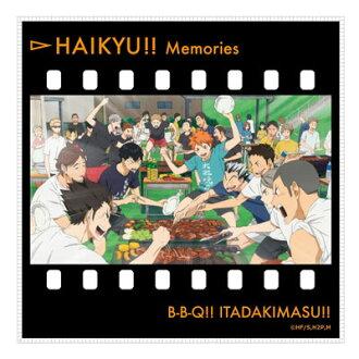 Haikyuu!! - Memories Microfiber Mini Towel: Summer Training Camp(Released)(ハイキュー!! メモリーズマイクロファイバーミニタオル 夏合宿)