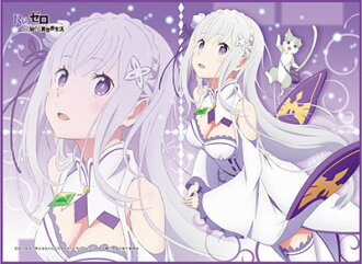 TCG All Purpose Play Mat - Re:ZERO -Starting Life in Another World- Emilia(Released)(TCG万能プレイマット Re:ゼロから始める異世界生活「エミリア」)