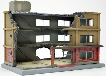 ジオラマコレクション 建物コレクション152 解体中の建物B(再販)[トミーテック]《発売済・在庫品》