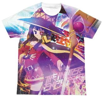 KonoSuba - Megumin Full Graphic T-shirt / WHITE - L(Released)(この素晴らしい世界に祝福を! めぐみんフルグラフィックTシャツ/ホワイト-L)