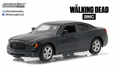 1/43 The Walking Dead (2010-Current TV Series) - Daryl Dixon's 2006 Dodge Charger Police[グリーンライト]《取り寄せ※暫定》