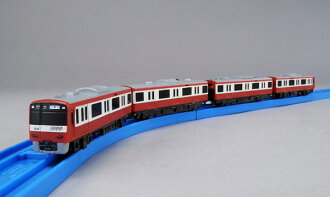 PlaRail Advance AS-09 Keikyu New Class 1000 (Aluminum Car) (ACS Compatible)(Released)(プラレールアドバンス AS-09 京急新1000形(アルミ車)(ACS対応))