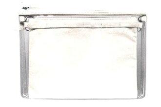 痛フラットペンポーチ ホワイト(Ita Flat Pen Pouch - White(Back-order))