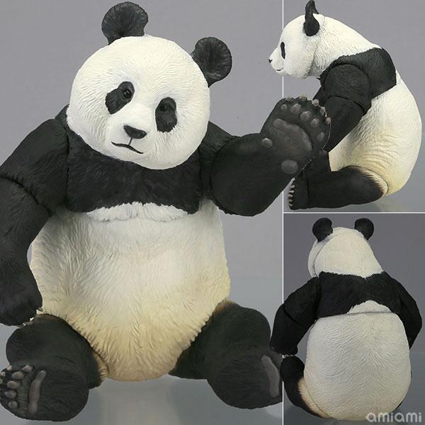 ソフビトイボックス 003 パンダ (ジャイアントパンダ) ソフビフィギュア(再販)[海洋堂]《発売済・在庫品》