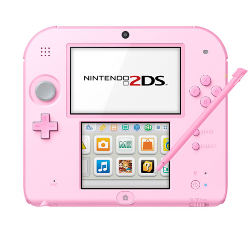 ニンテンドー2DS ピンク[任天堂]【送料無料】《発売済・在庫品》
