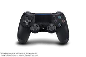 PS4用 ワイヤレスコントローラー(DUALSHOCK4) ジェット・ブラック[SIE]【送料無料】《発売済・在庫品》