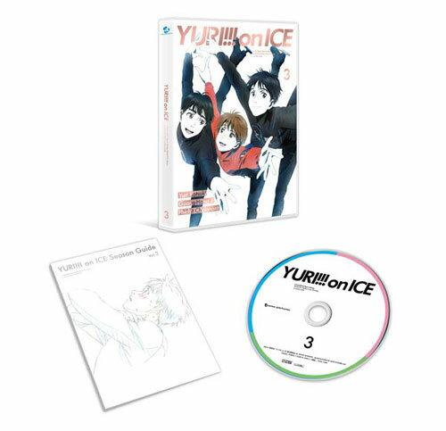 DVD ユーリ!!! on ICE 3[エイベックス]《取り寄せ※暫定》