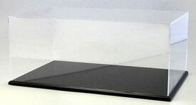 京商オリジナル アクリルケース&木製ディスプレイベースセット (大) ブラック[京商]《取り寄せ※暫定》