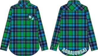 ハイキュー!! イメージチェックシャツ 青葉城西高校 L(Haikyuu!! - Image Checkered Shirt Aoba Johsai High School / L(Back-order))