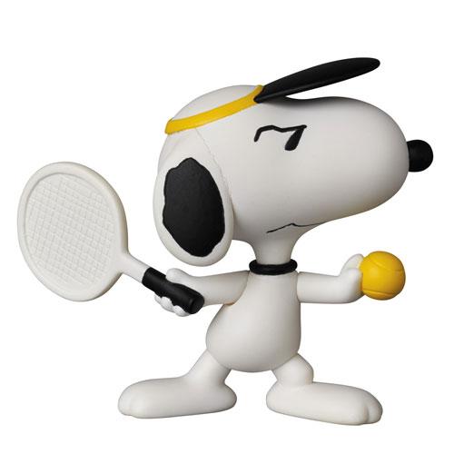 ウルトラディテールフィギュア No.323 UDF ピーナッツ シリーズ5 テニスプレイヤー スヌーピー[メディコム・トイ]《発売済・在庫品》
