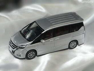 KYOSHOオリジナル 1/43 日産 セレナ 2016(ブリリアントシルバー)(KYOSHO Original 1/43 Nissan SERENA 2016 (Brilliant Silver)(Back-order))