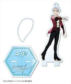 Yuri on Ice - Acrylic Figure Stand 03. Victor Nikiforov(Released)(ユーリ!!! on ICE アクリルフィギュアスタンド 03 ヴィクトル)