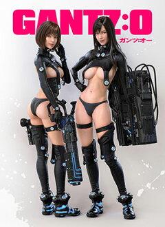 GANTZ:O - MofuMofu Lap Blanket: Reika & Anzu(Released)(『GANTZ:O』 もふもふひざ掛け レイカ&杏)