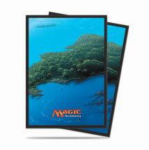 マジック:ザ・ギャザリング [島] デッキプロテクター パック[Ultra・PRO]《取り寄せ※暫定》