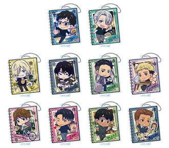 Yuri on Ice - Toji Colle Acrylic Keychain Vol.1 10Pack BOX(Released)(ユーリ!!! on ICE とじコレ アクリルキーチェーンVol.1 10個入りBOX)