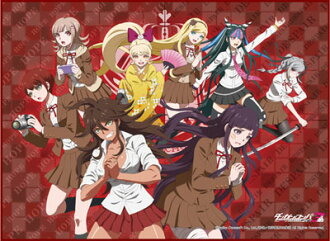 TCG All Purpose Play Mat - Danganronpa 3 -The End of Kibougamine Gakuen- Zetsubou Hen(Released)(TCG万能プレイマット ダンガンロンパ3 -The End of 希望ヶ峰学園- 絶望編)