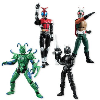 SHODO - Kamen Rider VS5 10Pack BOX (CANDY TOY)(Released)(SHODO 仮面ライダーVS5 10個入りBOX (食玩))