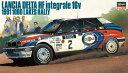 1/24 カーモデルシリーズ ランチア デルタ HF インテグラーレ 16v 1991 1000湖ラリー プラモデル[ハセガワ]《取り寄せ※暫定》