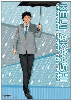 Haikyuu!! - Clear Poster Q (Akaashi)(Released)(ハイキュー!! クリアポスターQ(赤葦))