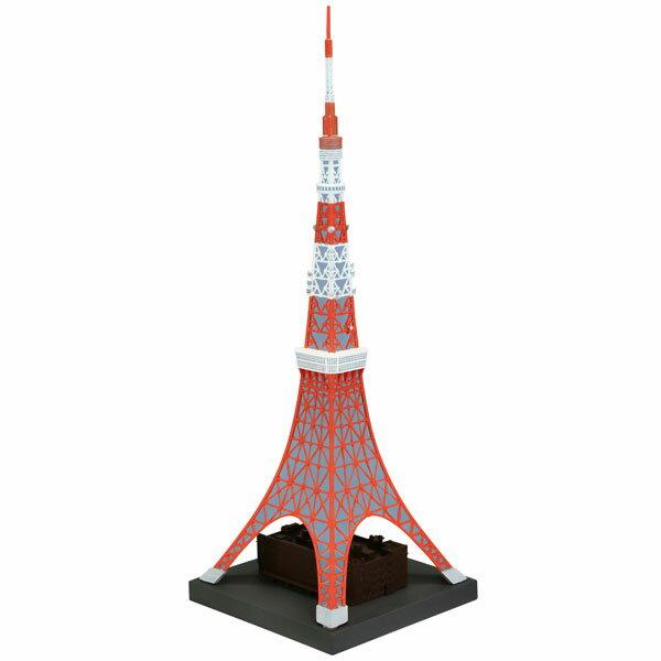 ソフビトイボックス Hi-LINE003 東京タワー 日本電波塔 約1/1300 ソフビフィギュア[ユニオンクリエイティブ]《発売済・在庫品》