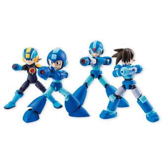 66 ACTION DASH - Mega Man 10Pack BOX (CANDY TOY)(Released)(66アクションダッシュ ロックマン 10個入りBOX (食玩))