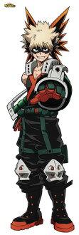 My Hero Academia - Life-size Wall Scroll: Katsuki Bakugo(Released)(僕のヒーローアカデミア 等身大タペストリー 爆豪勝己)