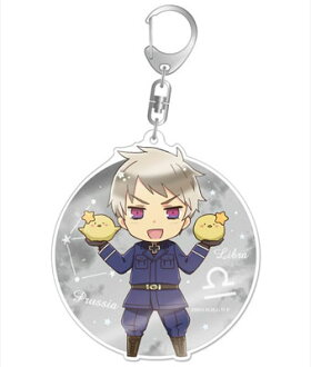 ヘタリア The World Twinkle デカアクリルキーホルダー プロイセン(Hetalia The World Twinkle - Deka Acrylic Keychain: Prussia(Back-order))