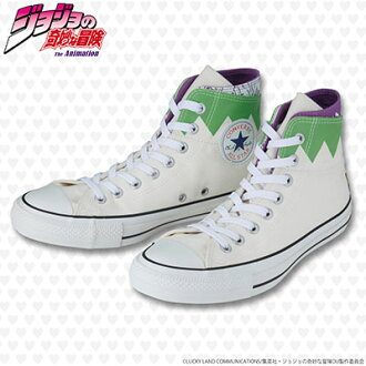 [CONVERSE ALL STAR 100] ALL STAR 100 W HI / JO [JoJo's Bizarre Adventure Rohan Kishibe Model] 27.5cm(Released)([CONVERSE ALL STAR 100]ALL STAR 100 W HI / JO[ジョジョの奇妙な冒険 岸辺露伴モデル] 27.5cm)
