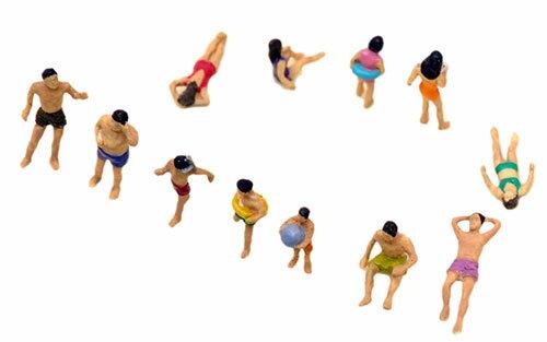 ザ・人間118 海水浴の人々[トミーテック]《発売済・在庫品》