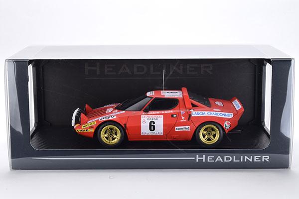 1/18 Lancia Stratos HF (#6) 1975 Tour de Corse[京商/イグニッションモデル]《取り寄せ※暫定》