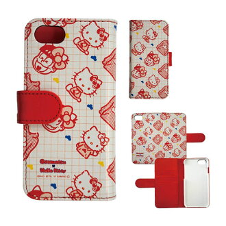 Sanrio Osomatsu-san - iPhone 7 Flip Cover: Osomatsu KT (SANOS-04A)(Released)(サンリオおそ松さん iPhone7対応フリップカバー おそ松 KT(SANOS-04A))