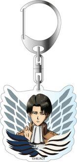 Attack on Titan Season 2 - Acrylic Keychain: Levi(Released)(進撃の巨人 Season 2 アクリルキーホルダー リヴァイ)