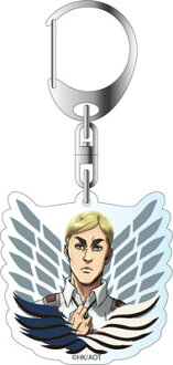 Attack on Titan Season 2 - Acrylic Keychain: Erwin(Released)(進撃の巨人 Season 2 アクリルキーホルダー エルヴィン)