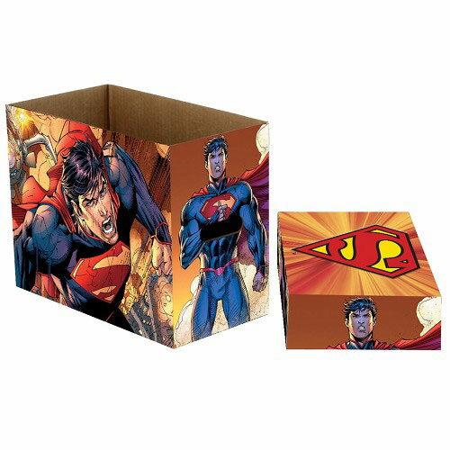 コミックブック ストレージボックス/ DCコミックス スーパーマン フライ ver[ネカ]《取り寄せ※暫定》