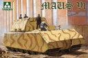 1/35 マウス V1 WWII ドイツ超重戦車 プラモデル[TAKOM]《発売済・在庫品》
