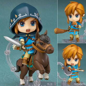 Nendoroid - The Legend of Zelda: Link Breath of the Wild Ver. DX Edition(Released)(ねんどろいど ゼルダの伝説 リンク ブレス オブ ザ ワイルドVer. DXエディション)