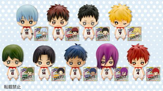 One Coin Mini Figure Collection - Kuroko's Basketball the Movie: Last Game 9Pack BOX(Released)(ワンコインミニフィギュアコレクション 劇場版 黒子のバスケ LAST GAME 9個入りBOX)