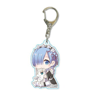 Gyugyutto Acrylic Keychain - Re:ZERO -Starting Life in Another World- / Rem(Released)(ぎゅぎゅっとアクリルキーホルダー Re:ゼロから始める異世界生活/レム)